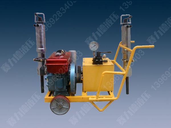 柴油型bobapp应用劈裂机
